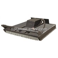 skid steer loader attachment grass cutter