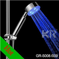 Temperature Detectable ABS LED Shower Heads