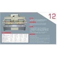 vertical plan screen printing machine
