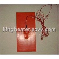 silicone rubber heater pad with PT100 thermocouple