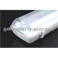T8 waterproof lamp fluorescent lighting fixtures weatherproof dustproof