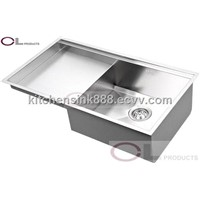 CU84SP Undermount  Drainboard Kitchen Sink