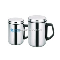 Thermos cup, double wall stainless steel mug