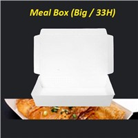 Paper lunch box, food packaging, paper box, packaging boxes