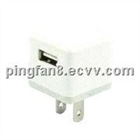5V/1A USB Power Adapter /Charger/transfer plug for iPhone, iPod World Traveling Use