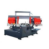 Angle Cutting Horizontal Metal Band Sawing Machine