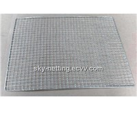 Barbecue Grill Wire Mesh 1mm Diameter Galvanized
