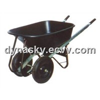 Heavy Duty Large Capacity Poly Wheel Barrow-WB1002P