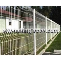 High Quality 3D Galvanized Steel Wire Mesh Fence