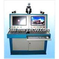 Rubber tube pressurization blasting testing table controlled by computer