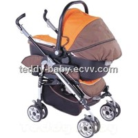3 IN 1 STROLLER WITH CARRYCOT BS05B