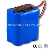 18650 li ion battery packs 3s2p for medical device