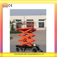 300kg Load Capacity Mobile Scissor Work Platform