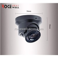 540TVL IR Weatherproof Video Dome Sony Color CCD Vehicle CCTV Dome Camera/CCTV Security Camera
