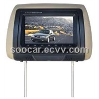 7 inch Headrest LCD monitor/DVD player with IR FM