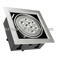 9W LED Grid Light/High Power  LED Downlight LED Ceiling Lamp