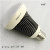 9W Solar panel battery led bulb dc12v dc24v