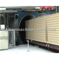 ALC wall panel machine