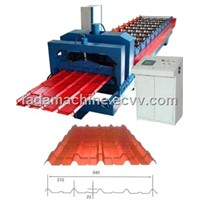 Automatic 840 Glazed Tile Making Machine/Roof Panel Forming Machine