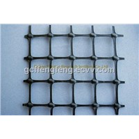 plastic biaxial plastic geogrid machinery