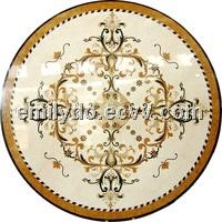 Carpet Floor Decoration Waterjet Medallion Tiles