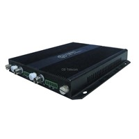 Compact 2-channel Video Fiber Optic Receiver Module