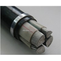 Copper conductor XLPE insulated aerial cable