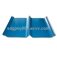 Corrugated sheet steel YX76-380-760