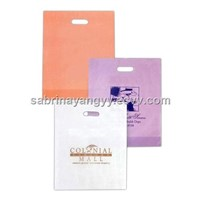 Custom printing biodegradable die cut plastic bag