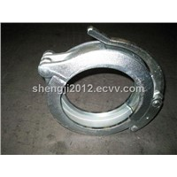 DN125 Schwing concrete pump pipe forging clamp