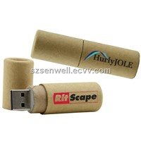 Eco-Friendly Tube Paper USB Flash Drive-w4
