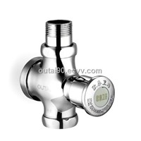 Elegant brass one piece toilet pressure flush valve OT-4309