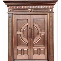 Exterior Door,Made of Copper Various Designs are Available, Suitable for Villas, Homes and Hotels