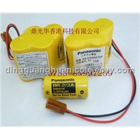 FANUC/PLC/GE Panasonic BR-2/3AGCT4A 6V lithium battery /Primary battery