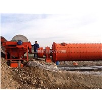 Fe3O4 Iron Ore Wet Type Beneficiation Plant