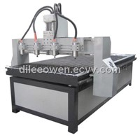 Four Heads CNC Router For Wood Engraving Dilee 1325MGJ-4
