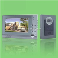 Free Shipping Recordable 7inch Video Door Phone System