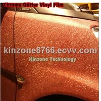 Gold Chrome Sticker Design wrap vinyl for Car