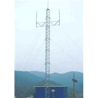 Guyed Tower For Power Transmission Line