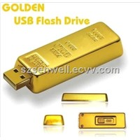 Hot Sell Gold Bar USB Flash Drive-M1