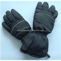 Heated gloves with 1700mAh li-ion battery pack