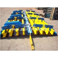 High standard Adjustable Semi-diameter Arced Concrete Column Formwork