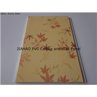 Hot stamping foil PVC ceiling and wall panel