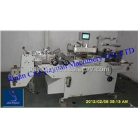 JMQ-320A Full-automatic Roll to Roll/Sheet Die Cutting Machine for label, adhesive tape with CE