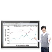 LABWE interactive white board 54'' to 102' Maximum 64 touch spot!