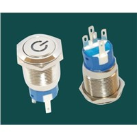 LED illuminated Metal Anti-vandal Push Button Switches Series Manufacture China