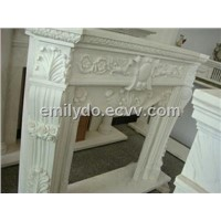 Marble Carved Fireplace Surround