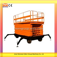 300kg Load Capacity Mobile Hydraulic Scissor Lift