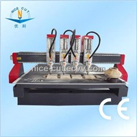 NC-M2222 Four Heads Wood MDF Furniture Engraving and Cutting CNC Router