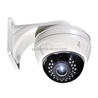 "Network Camera 1/3"" CMOS IR Dome Camera Varifocal HD Lens 2.8-12/4-9mm Lens Optional"